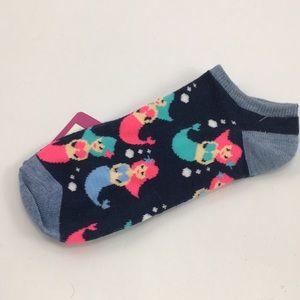 Accessories - Stocking stuffer! NWT no show mermaid low socks